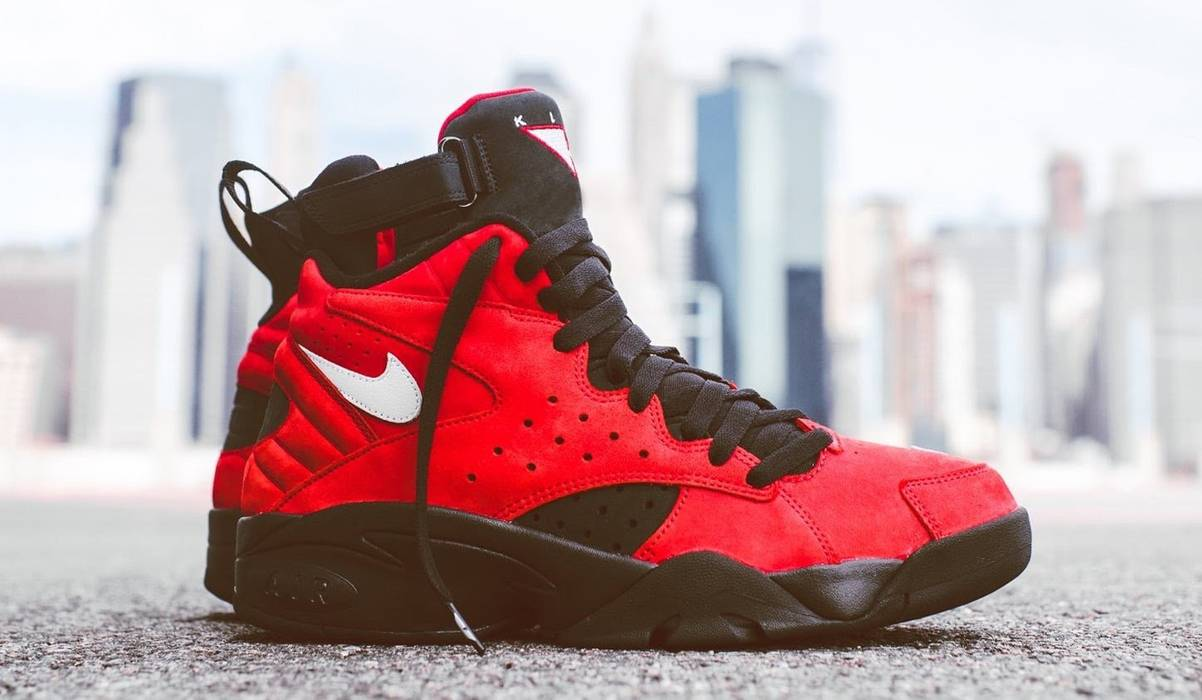 3abbc9528bc Nike Kith x Nike Air Maestro II High - Red Size 13 - Hi-Top Sneakers ...