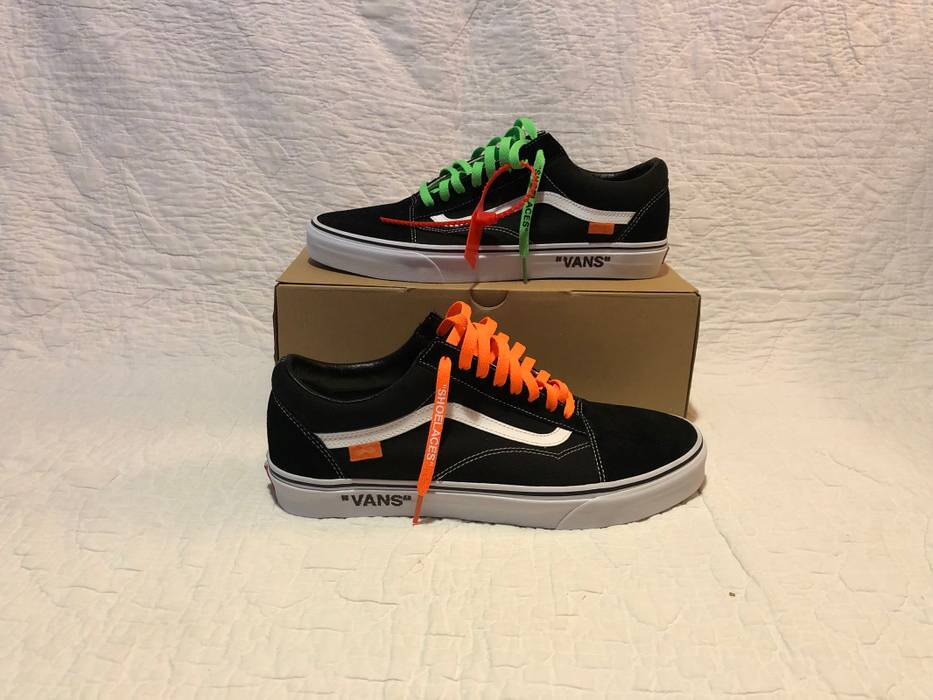 3adb5b121c44b5 Vans Vans Old Skool Off-White Custom Size 12 - Low-Top Sneakers for ...