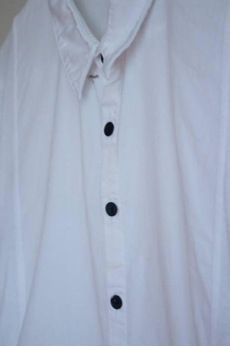 e34986b07e Alexander Wang Hybrid Material Contrast Button Shirt Size US S   EU 44-46