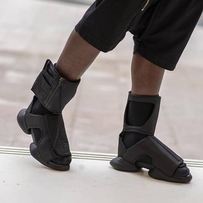 Adidas Rick Owens X Adidas Cargo Sandals Size 8 Sandals For Sale
