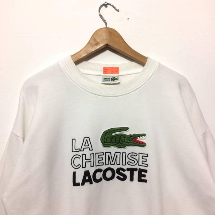 b72a39846 Lacoste Lacoste Crewneck Biglogo White Sweatshirt Size US XL / EU 56 / 4 - 1