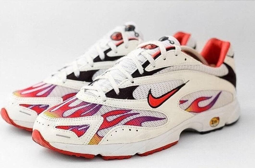 d2f2d2e330e Supreme Nike Zoom Streak Spectrum Plus Supreme White Size US 10.5   EU 43-44