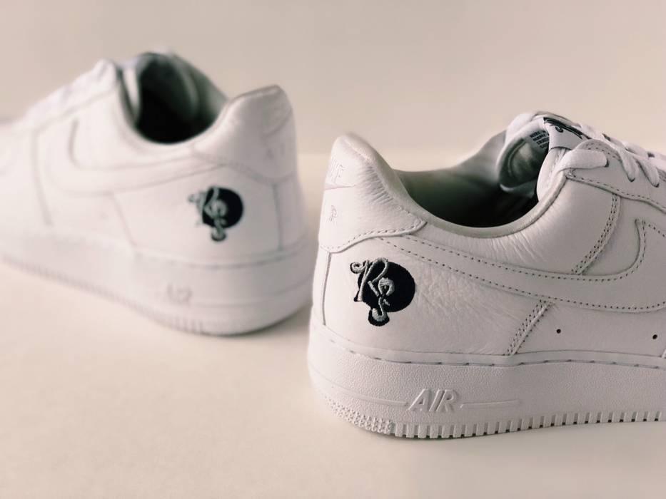 Nike NIKE AIR FORCE 1  07 LOW ROCAFELLA  SZ 14  AF1 JAY-Z RECORDS OG ... a7a8dc8254af