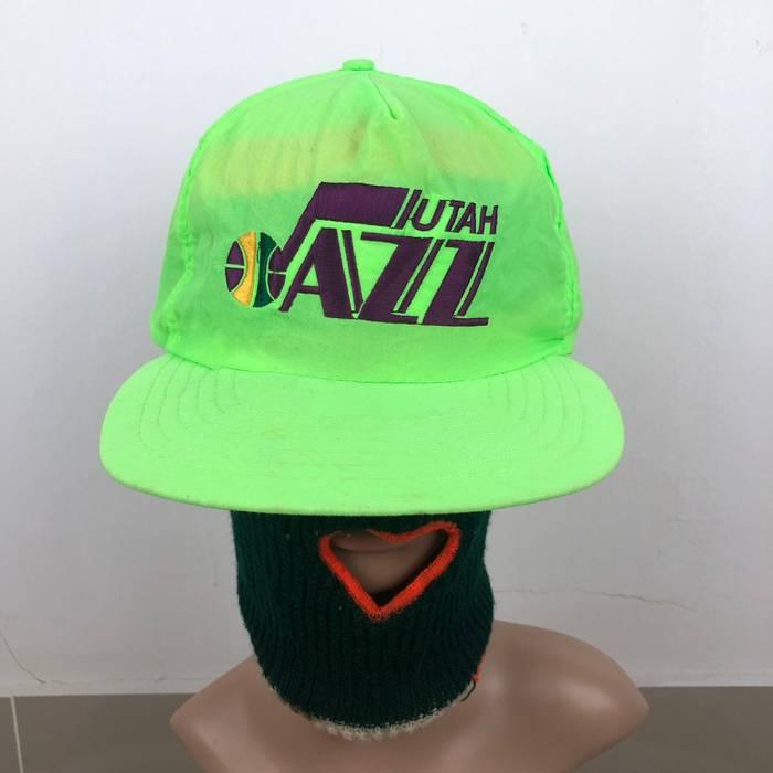 Vintage Vintage Utah Jazz Neon Colour Snap Back Size one size - Hats ... 6e0be521a4cd