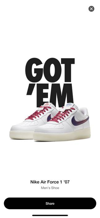 cc5879702e5f44 Nike Nike Air Force 1 De Lo Mio Size 8 - Low-Top Sneakers for Sale ...