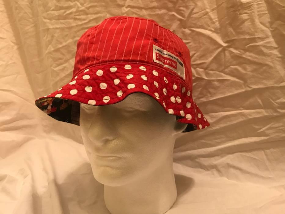 Supreme Supreme Comme Des Garçons Bucket Hat Size one size - Hats ... 57bf1cb190a