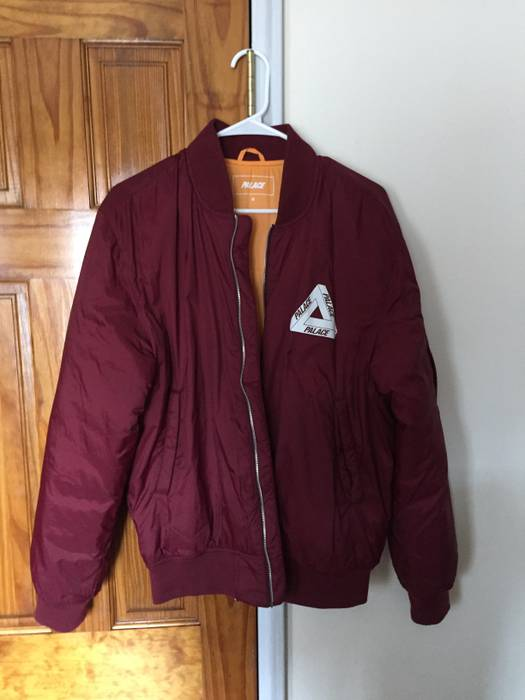 925099188488 Palace Bomber Jacket (Cordovan) Size m - Bombers for Sale - Grailed