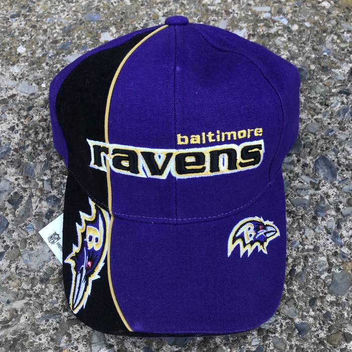 Vintage Vntg. Baltimore Ravens Embroidered NFL Game Day Hat Size ONE SIZE 4228b0d858a