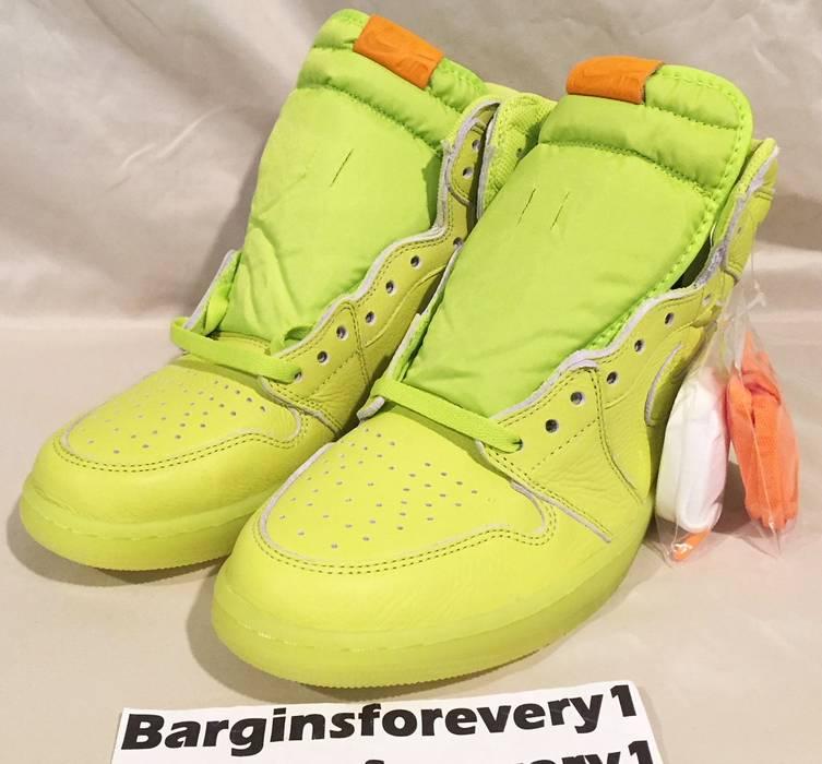 af62f9844c2 Air Jordan 1 Retro Hi OG Gatorade - Lemon Lime - Size 11 - Cyber -  AJ5997-345