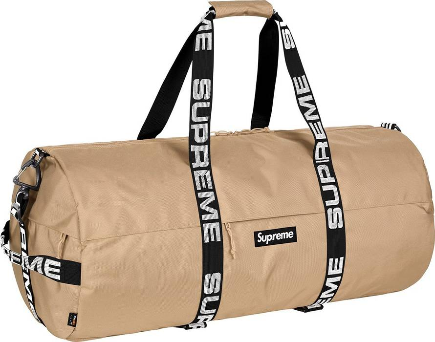 dbb69d6e0d Supreme SS18 Large Tan Duffle Bag Size one size - Bags   Luggage for ...