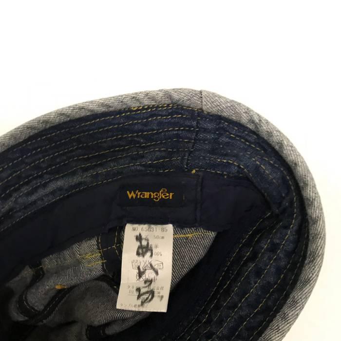 Vintage 🔥RARE WRANGLER SELVEDGE BUCKET HAT🔥 Size 26 - Hats for ... ba736442fee