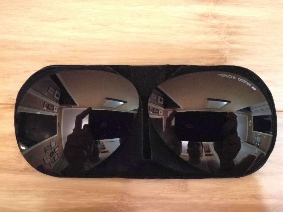 d0d3a0d7fb6 Porsche Design 1988 5621 90 vintage matte black aviator sunglasses Size ONE  SIZE - 10