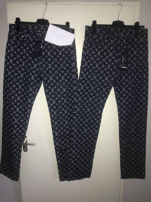 2d17375ea49e Louis Vuitton Louis Vuitton regular monogram denim jeans Size 32 ...