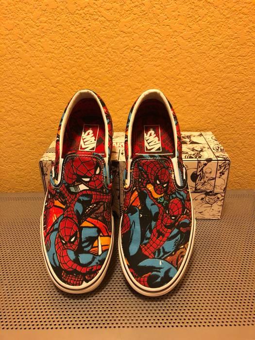 Vans VANS Spiderman Slip Ons Size 9 - Slip Ons for Sale - Grailed befd20367