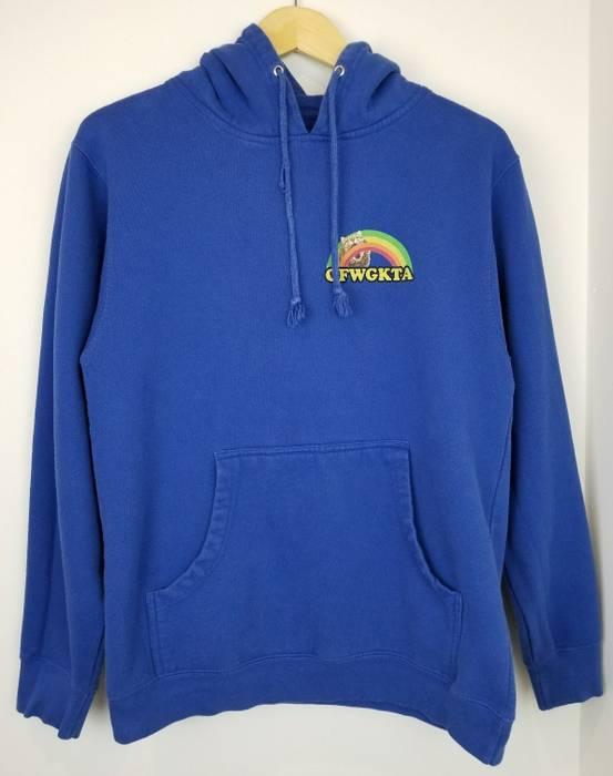 68478246b9eb Odd Future. OFWGKTA Rainbow Cat Hoodie Blue Pullover Hoodie Sweatshirt