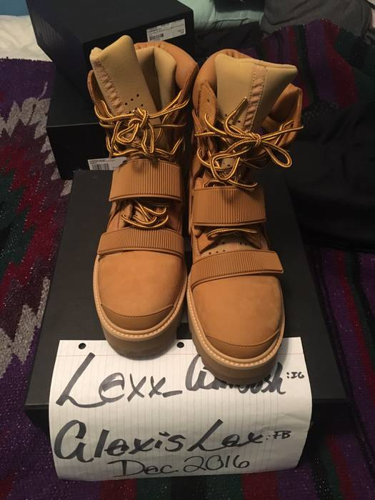 Hood By Air Avalanche Hba Forfex Size 8 Boots For Sale Grailed