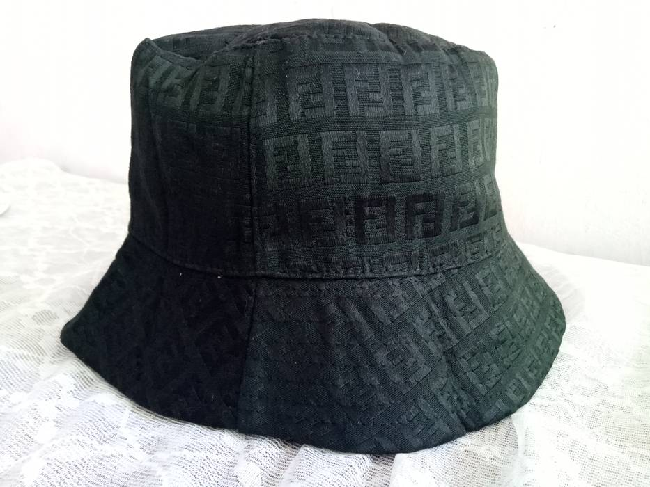 Fendi Vintage Fendi Monogram Bucket Hat Made In Italy not gucci ... 92a06556920