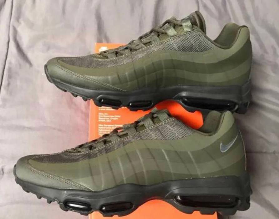 59510e611223 Nike Nike air max 95 Ultra essential Military Green mens size 9 ...