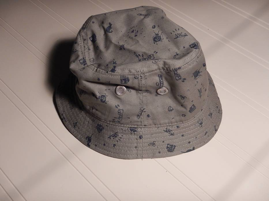 Kangol grey medium bucket hat Size one size - Hats for Sale - Grailed 586960511b3