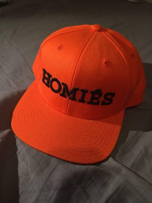 Brian Lichtenberg Bltee homies hermes logo snapback cap orange Size ... 46362e86aba