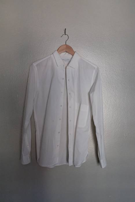 adc16af2 Uniqlo White Dress Shirt Size s - Long Sleeve T-Shirts for Sale ...