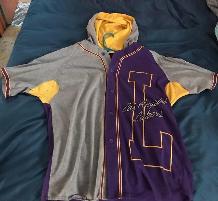 f6c655cd0420 Starter Los Angeles Lakers Starter Baseball Jersey Size l - Jerseys ...