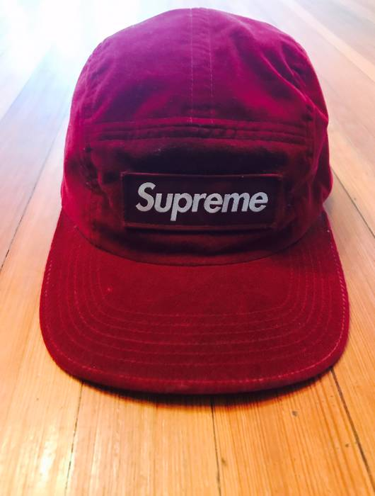 c90855630081 Supreme Suede Supreme Cap Size one size - Hats for Sale - Grailed