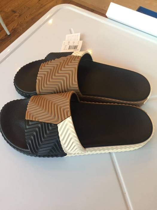 3be0342ad Adidas Adilette Pool Slide Size 11 - Sandals for Sale - Grailed
