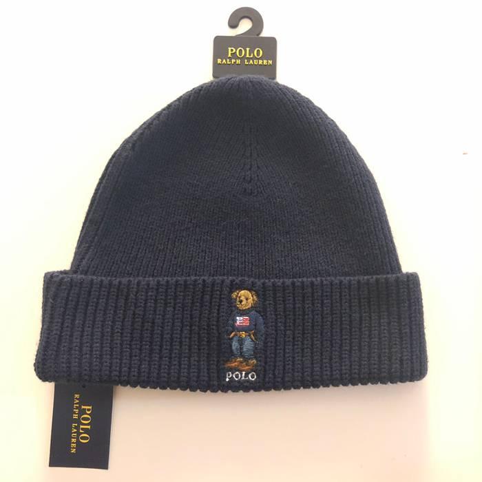 ba3a0dc21ad22 Polo Ralph Lauren Polo Ralph Lauren Men s USA Flag Sweater Bear Cuffed  Beanie Skull Cap Hat