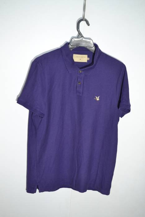 Chevignon Chevignon L Size Purple Duck Logo Polo Shirt Size L