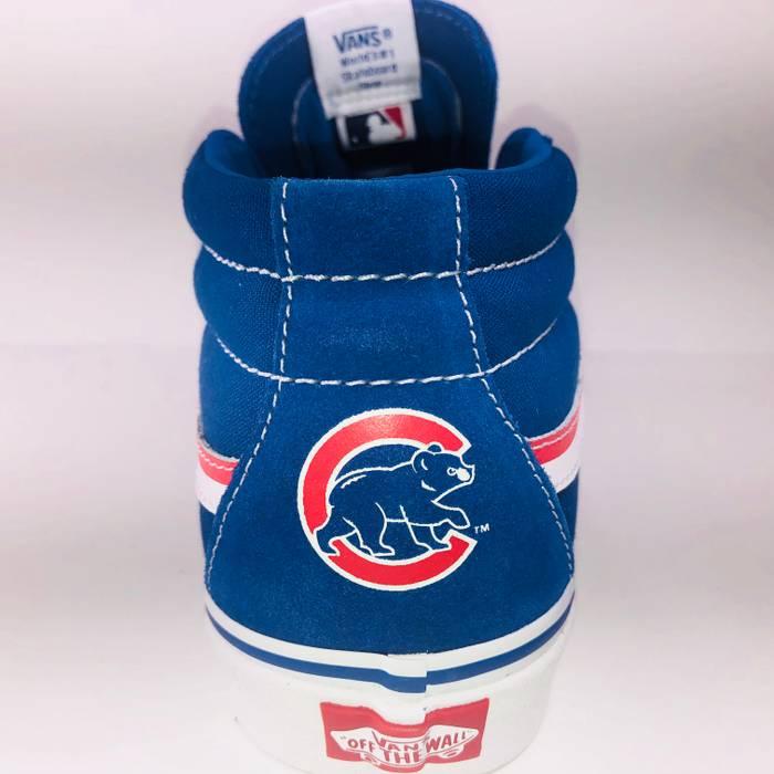 de9d2d5e091 Vans VANS SK8 Mid MLB Cubs Classic Blue Skateboard Shoe Size US 10   EU 43