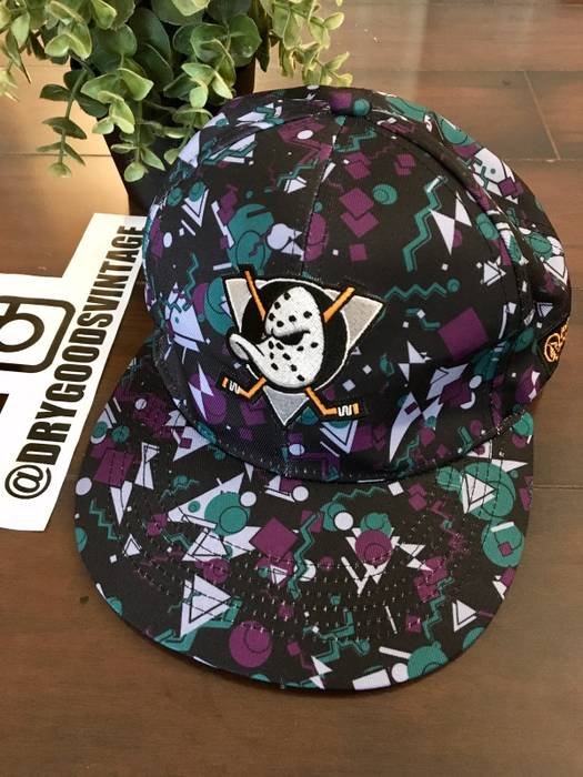 The Mighty Ducks Snapback Patterned Hat Size one size - Hats for ... 415fff07923