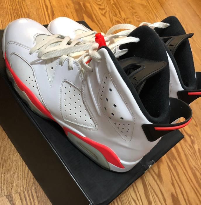 3dbc82d5b07d1c Nike Air Jordan 6 Retro White Infrared-Black Size 10.5 - Hi-Top ...