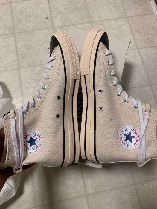 Pacsun Fog Converse White Size 11 - Hi-Top Sneakers for Sale - Grailed 70cd385f72ce