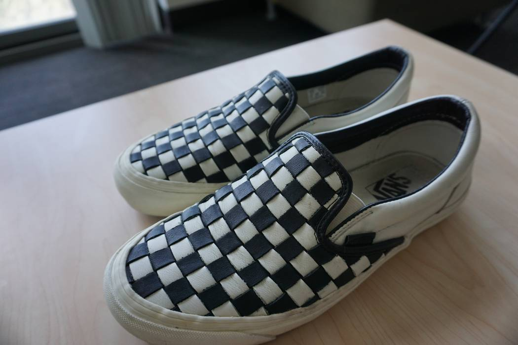 8233ab4995 Vans Vans Vault OG 50th Anniversary Slip-On LX Checkerboard   Checkered  Past   Size