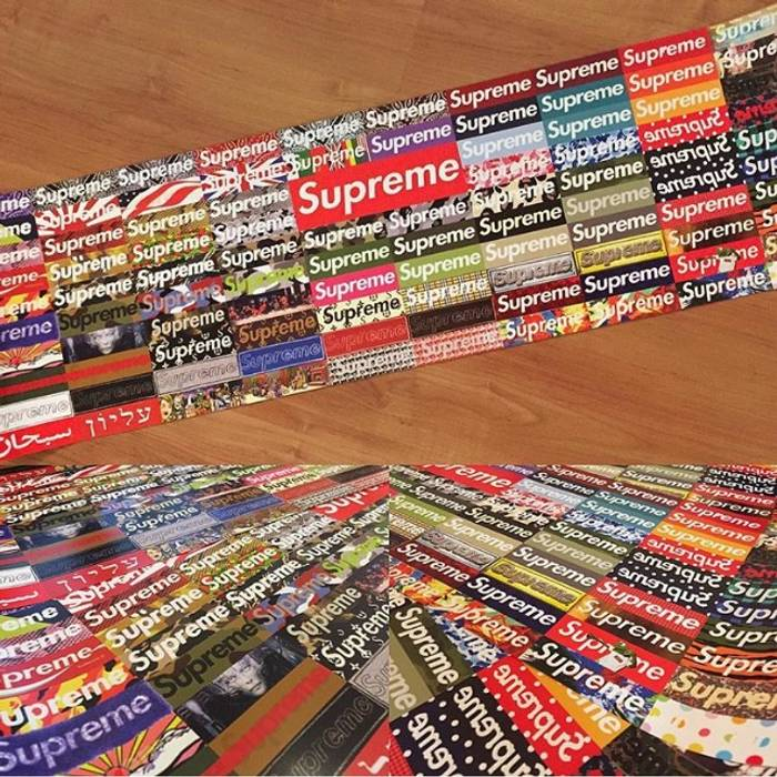 Supreme What The Box Logo Poster Size