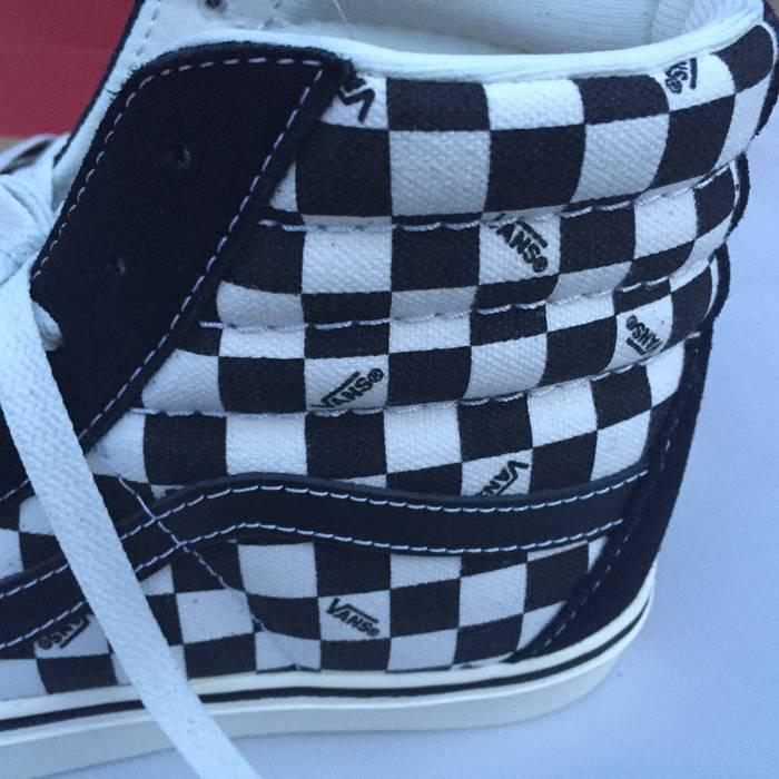 5518ae4aa2c692 Vans Vans SK8 Hi Checkerboard Logo Ortholite Size US 13   EU 46 - 3