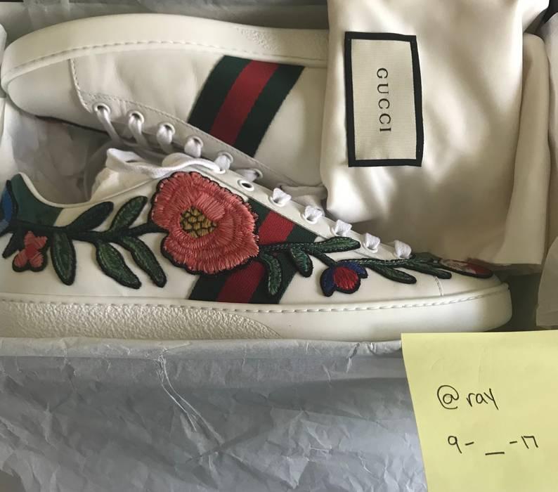 de8753e4d9b Gucci Gucci Ace Floral Size 9 - Low-Top Sneakers for Sale - Grailed