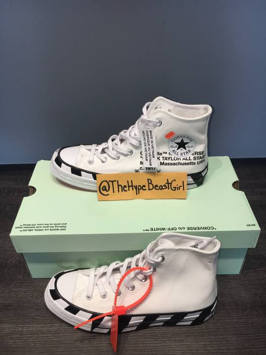 474bf386ea3 Off-White Converse Chuck Taylor X Off White V2 Size 6 - Hi-Top ...