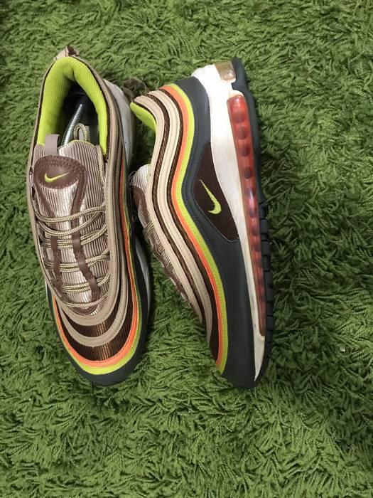 lowest price 10094 95d8f Nike Air Max 97 Bright CactusRustic Dark 2007 Size US 10.5  EU 43