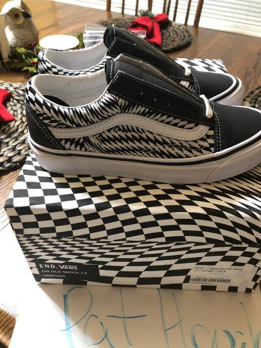 953b47d4ed Vans END x Vans OG OLD SKOOL LX VERTIGO Size 5 Size 6 - Low-Top ...