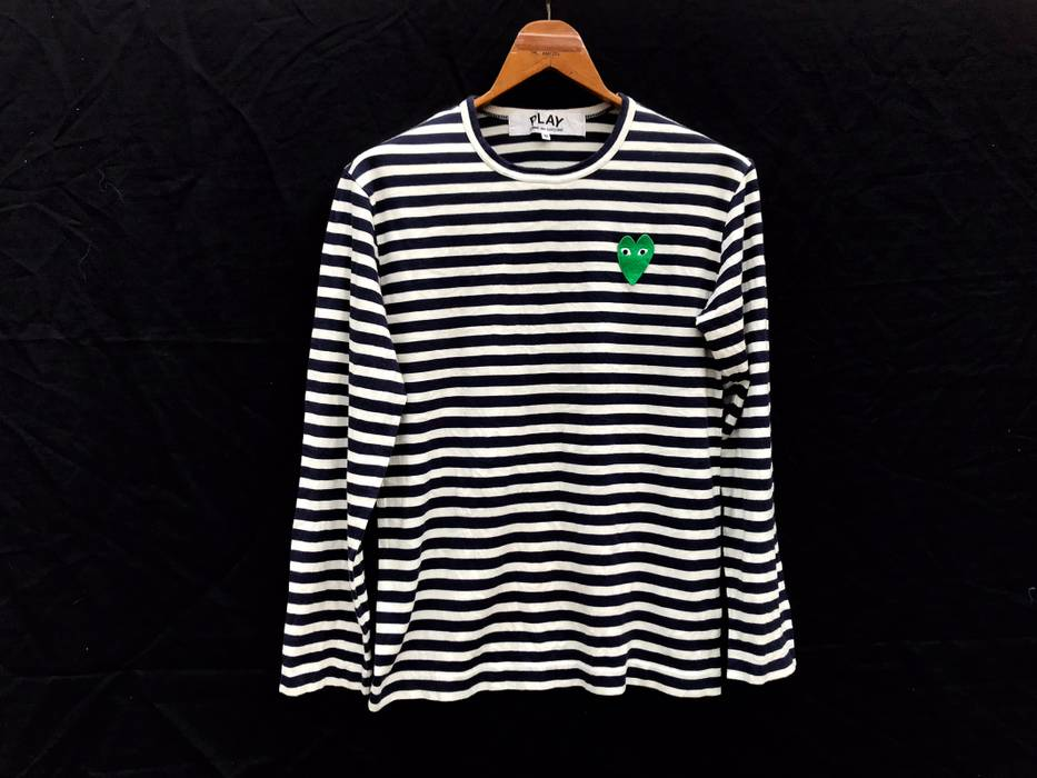 441af515e8b9 Comme des Garcons Comme Des Garçons Striped Tee Size m - Long Sleeve ...