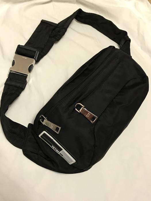 e248757cde1e Prada Prada 018 Nylon Cross Body Bag   Fanny Pack Size one size ...