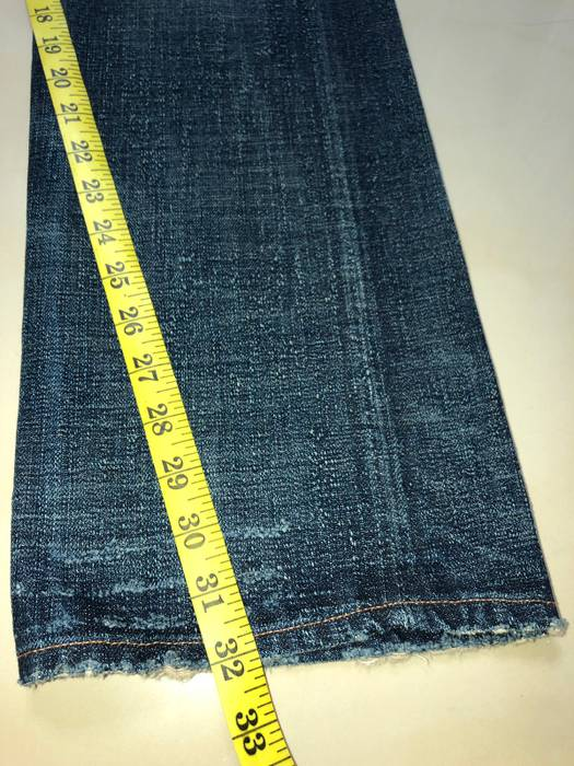 9a3658b9dd2 Rrl Double RL Waist Overall Lot R16 Distressed Selvedge Denim Size US 32    EU 48
