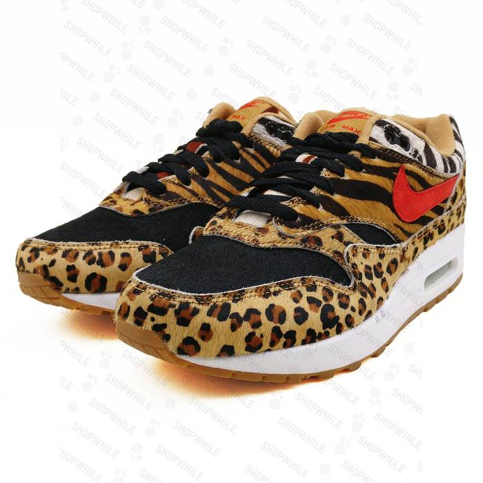new arrival 57ebc 6c93e Nike NIKE Air Max 1 Atmos Animal Pack 2.0 2018 All Black Box (AQ0928-