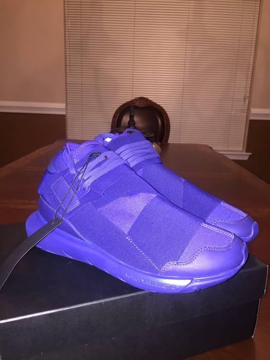 59bb320f1 Adidas Adidas Y-3 Yohji Yamamoto Qasa High Purple Dark Blue S82124 Size 9  Size