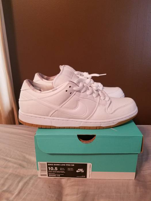 608ea5ef1dd0 Nike SB Dunk  White Pure Platinum Gum  Size 10.5 - Low-Top Sneakers ...