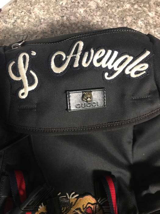 67fbfd698788 Gucci Gucci Backpack With Embroidery $850 Tonight And Tomorrow Only!! Size  ONE SIZE -