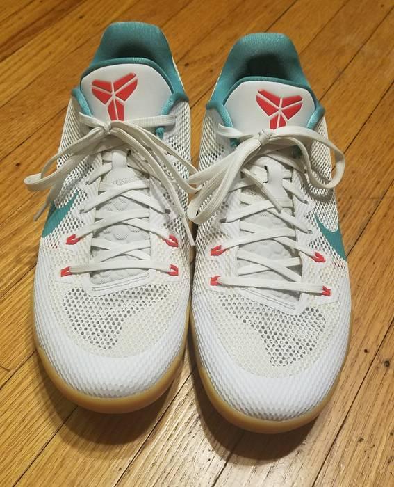 """558448ec5dc5 Nike Nike Kobe XI 11 """"Summer Pack"""" SZ White Teal Gum 836183-103 Mens ..."""