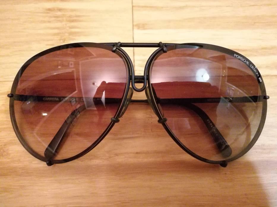 ea3792d03dd Porsche Design 1988 5621 90 vintage matte black aviator sunglasses Size ONE  SIZE - 2